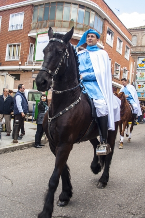 talavera de la reina: horsemen on horseback, Mondas Feast of Talavera de la Reina, Feast of National Tourist Interest, Toledo