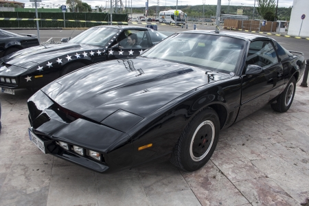 Kitt the car fantastic, replicated, Pontiac Firebird Trans Am