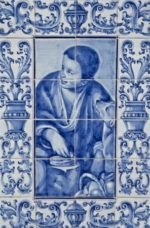 Talavera Ceramic, ceramic tile panel