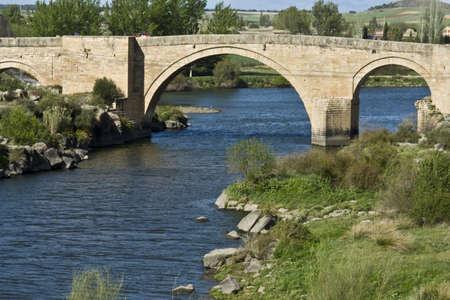 runways: River Tagus  Archbishop s Bridge, Toledo  Stock Photo