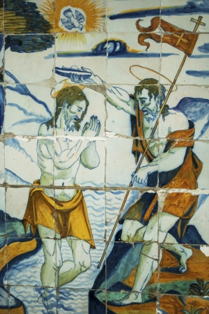 religious tiles Basilica del Prado of Talavera de la Reina, which was called The Queen of the Chapels by Philip II, is also called the Sistine Chapel of ceramics, for this colorful art shows here all its splendor from the sixteenth to our days