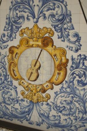 Ceramic music in the Jardines del Prado, Talavera, Toledo