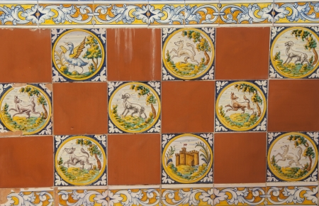 Talavera Ceramic Tile, Stock Photo - 23108627