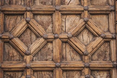 Wood door, texture