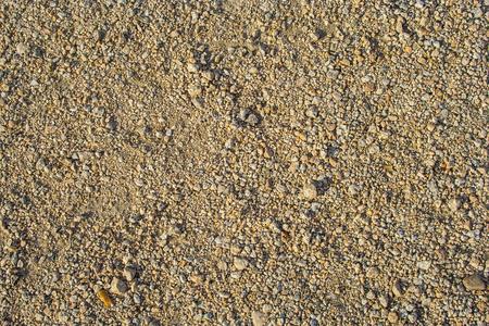 Background texture of sand, gravel photo