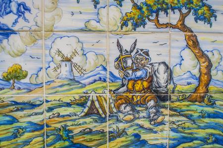 talavera de la reina: Quixote Pottery, ceramic tiles Talavera de la Reina Editorial
