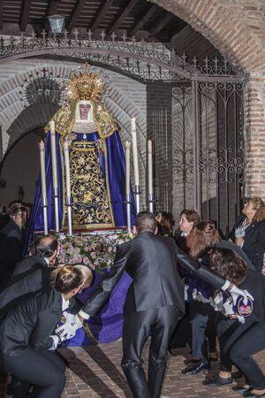 La semaine de Pâques, Talacera de la Reina, Tolède, Espagne Banque d'images - 54985997