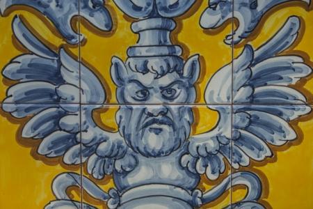 talavera de la reina: certamica details of Talavera de la Reina, Toledo Editorial