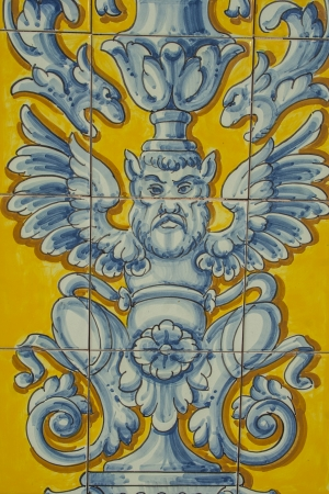 certamica details of Talavera de la Reina, Toledo