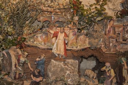 portal de belen: Pesebre de Navidad del nacimiento de Jes�s