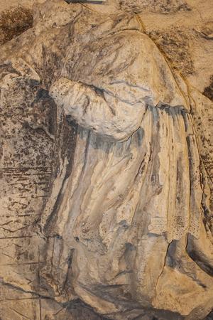 Sculpture en pierre de l'art religieux, Banque d'images - 53811560