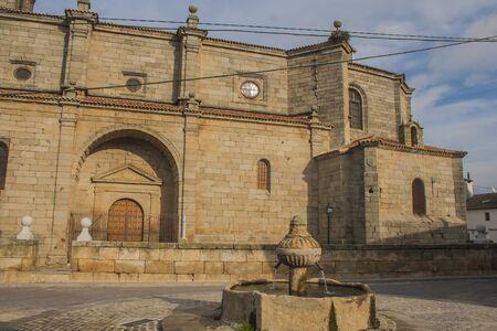 Church Navamorcuende, Toledo, Castilla La Mancha, Spain