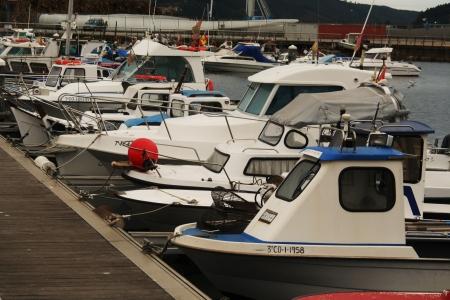 Maritime transport, fishing port Editorial