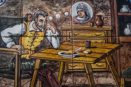 talavera: Ceramic Talavera , Quixote