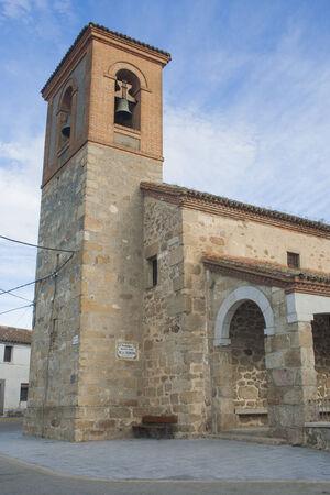 Les gens Eglise Majorada, Toledo, Espagne, Banque d'images - 26364756