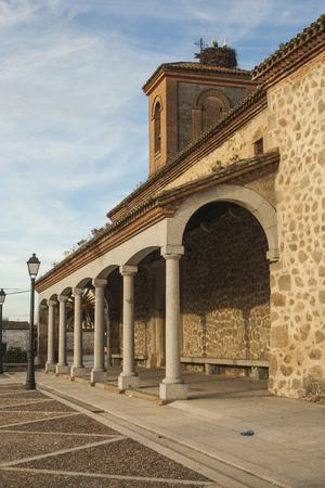 The people Church, Majorada, Toledo, Spain,