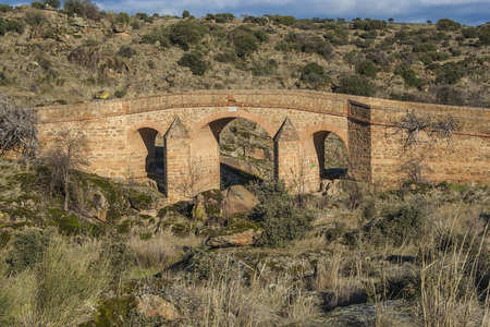 bridge,  Landscape, bridge Malpasillo