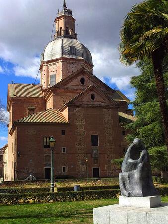 L'architecture religieuse, lieux de culte, la Basilique del Prado, Talavera de la Reina Banque d'images - 26384347