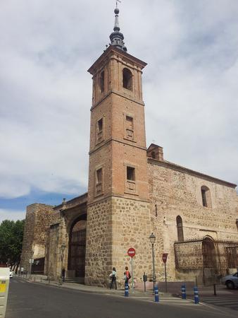L'église de El Salvador de los Caballeros, Talavera de la Reina Banque d'images - 54752369