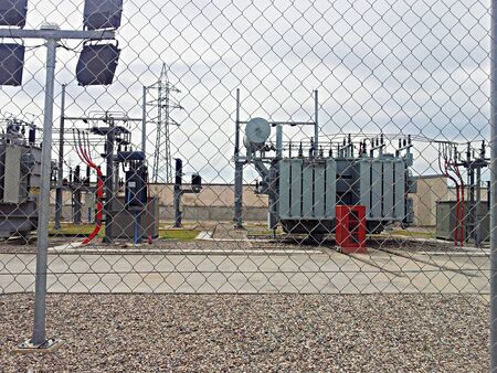 Centrales électriques,  Banque d'images - 54752370