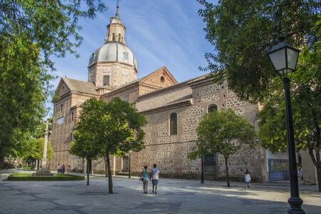 dome of the Basilica del Prado, Talavera de la Reina, Toledo, Spain Editorial