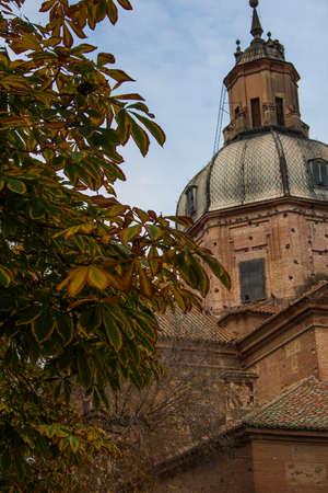 dome of the Basilica del Prado, Talavera de la Reina, Toledo, Spain Stock Photo