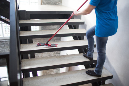 Cleaning Service Concept 스톡 콘텐츠