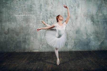 Ballet in beautiful style. Modern ballet. Ballet dancer Banque d'images