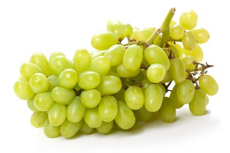 seedless: Green Grapes Stock Photo
