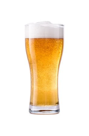 Glass of fresh beer Stock Photo - 21130463