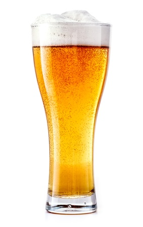 Glass of fresh beer Stock Photo - 21130465