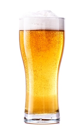 Glass of fresh beer Stock Photo - 21130475