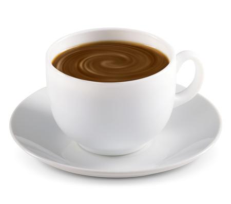 Hot Chocolate on white background