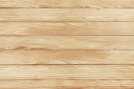 Architectural background texture of a panel of natural unpainted pine board cladding with knots and wood grain in a parallel pattern conceptual of woodwork, carpentry, joinery and construction Archivio Fotografico