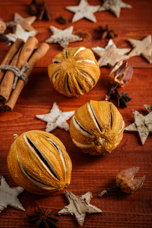 festive food: Components for festive food. Stock Photo