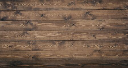 Grunge surface rustic wooden table top view. Wood texture background surface with old natural pattern. Stock Photo