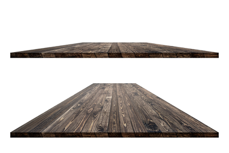 Wooden worktop surface with clipping mask Stok Fotoğraf