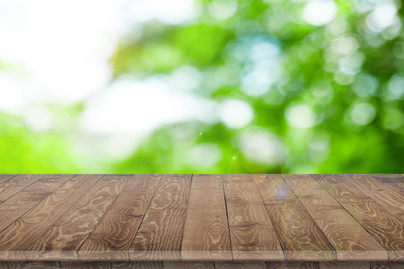 Wooden tabletop perspective for product placement Stock fotó