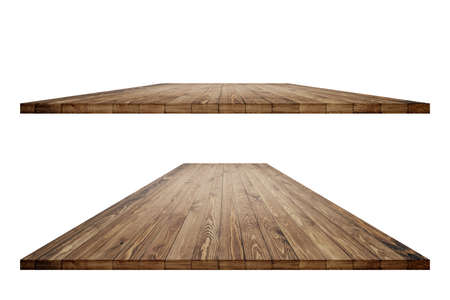 Wooden worktop surface with clipping mask