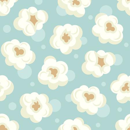 Popcorn  colorful pattern.  イラスト・ベクター素材