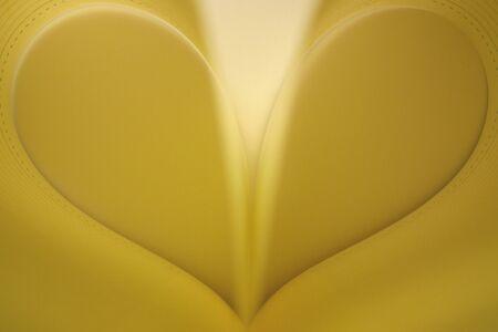 Zlaté srdce Reklamní fotografie