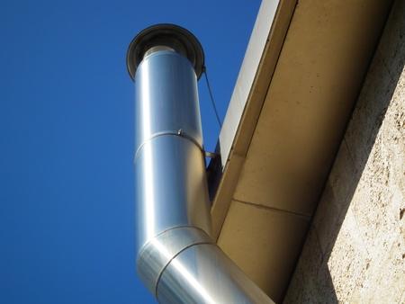 Aluminium Schornstein