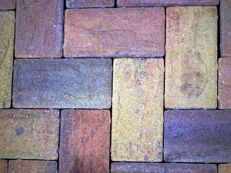 pavers: Rainbow pavers