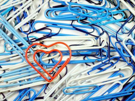 staple: Red heart staple