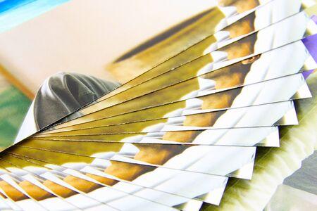 Brochures. Standard-Bild