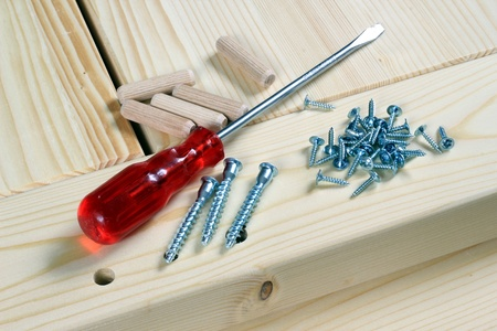 Tools for carpenter.