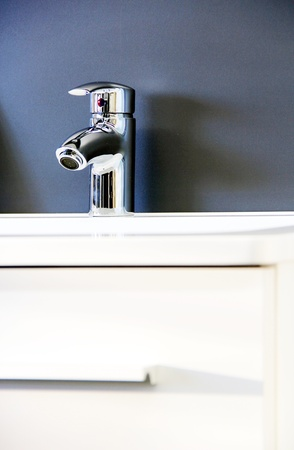 New faucet. Stock Photo - 12032975