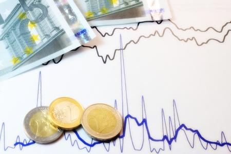 Stock market and money values. Stock Photo - 12084363