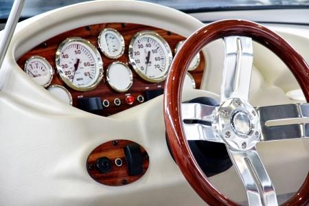 Podrobnosti z jachty.