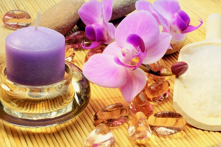 A concept of spa treatment. photo